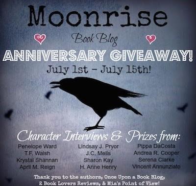 Moonrise anniversary banner