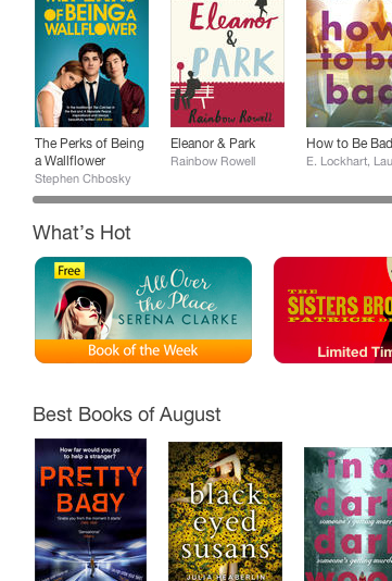 2015-08-18 iBooks UK Book of the Week